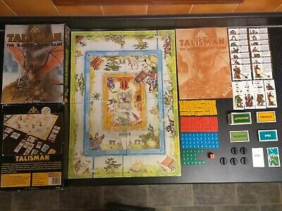 TALISMAN 2nd EDITION BOXED 99% COMPLETE OPP RARE RPG GAMES WORKSHOP • 39.99£