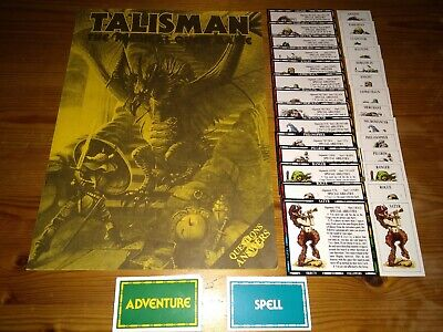 Talisman The Adventure Expansion 1st & 2nd Edition Unboxed Complete Vgc • 28.99£