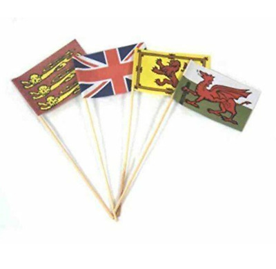Sandcastle Flags Set Of 4. Ideal For The Beach & Sandpits. • 1.40£