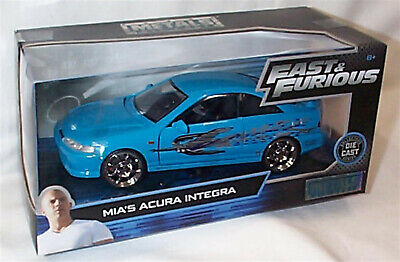 FAST & FURIOUS Mia's Acura Integra 1/24 SCALE DIECAST OPENING FEATURES • 28.95£