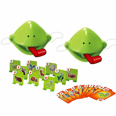 Be Quick To Lick! Chameleon Sticky Tongue Board Game Mask Shoot Children Toy • 8.99£