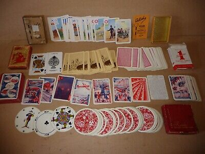 Vintage Card Games And Playing Cards -Pepys Belisha /UP Rush-Hour /Rondo Cards(3 • 14.99£