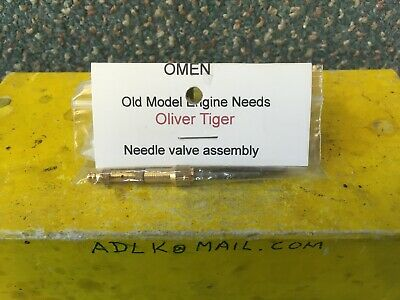 Needle Valve Assembly For Oliver Tiger Mk3, Mk4 And Cub • 14£