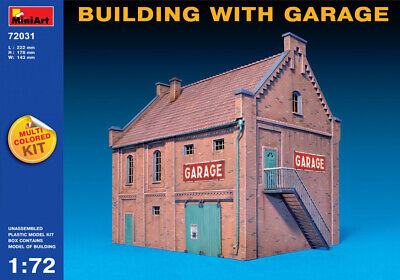 MiniArt 1/72 (20mm) City Building With Garage • 36.99£