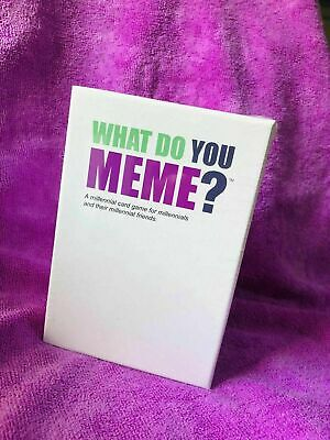 What Do You Meme? Adult Party Card Game For Meme Lovers • 15.99£