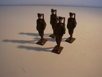 U/K -WWI Soldiers Marching X 4 No. • 4.25£