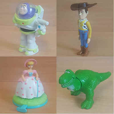 McDonalds Happy Meal Toy 1996 Walt Disney Toy Story Character Figures - Various • 12.75£