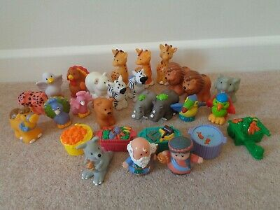 Fisher Price Little People Assorted Figures And Animals Ark Zoo Farm • 25£