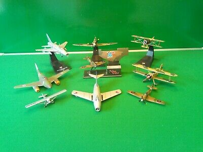 Vintage Models JOBLOT DIECAST AIRCRAFT CORGI & Others WWI Military Planes Bundle • 10.50£