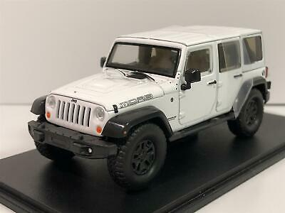 2013 Jeep Wrangler Unlimited MOAB White 1:43 Scale Greenlight 86176 • 23.99£