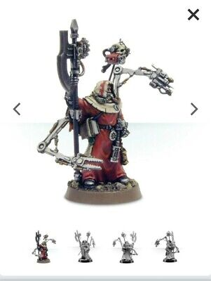 Forgeworld Adeptus Titanicus Tech Priest Engineer Warhammer 40k  Mechanicus • 8£