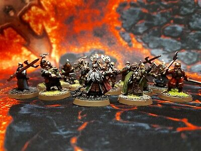 Lord Of The Rings Dwarves Khazard Guard Balin And More Games Workshop Painted  • 16.09£