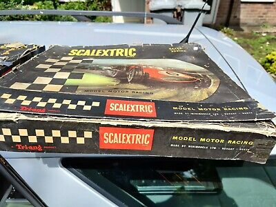 2 X Boxed Sets Vintage Scalextric GP3 KIT RELEASED 1961-63 • 39.50£