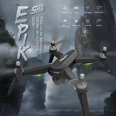 JJPRO X5 EPIC 1080P 5G Wifi FPV GPS RC Drone With 3 Batteries Fast Delivery V2V3 • 145.95£