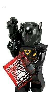 LEGO Minifigures Series 19 Galactic Bounty Hunter Blacktron Minifigure 71025 • 0.99£