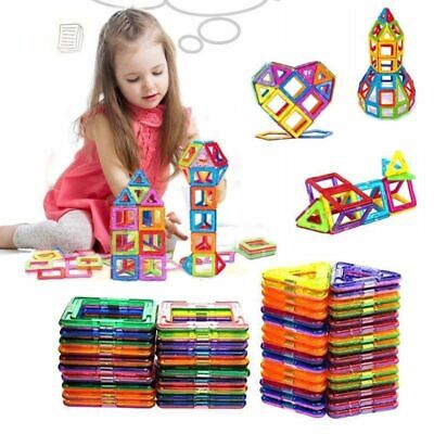 100/50Pcs Magnetic Building Blocks Multicolour Construction Building Toys Puzzle • 16.99£