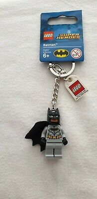 Genuine Lego Batman Dc Superheroes Minifigure Keyring • 1.50£