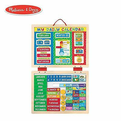 Melissa & Doug My First Magnetic Daily Calendar With 82 Magnets 19253 • 16.95£