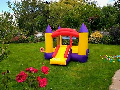 Kids Large Bouncy Castle With Slide And Delivery! • 41£