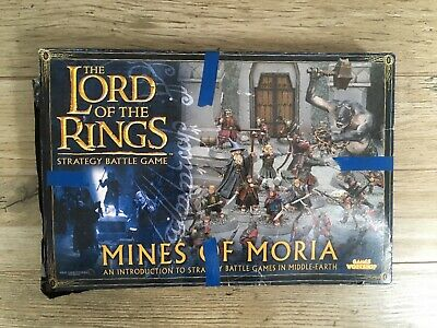 Games Workshop Lord Of The Rings The Mines Of Moria Boxed Game LoTR  • 5.20£