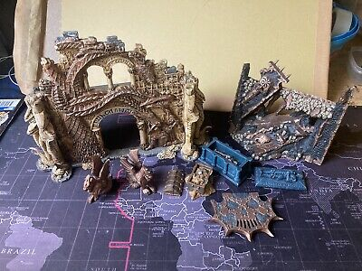 JOB LOT WARHAMMER AGE OF SIGMAR AOS TERRAIN SCENERY Ophidia Archway Objectives • 1.20£