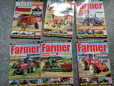 Year Of Model Farmer Magazines 2012 (6 Magazines) • 8£