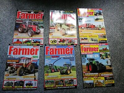 Year Of Model Farmer Magazines 2013 (6 Magazines) • 8£