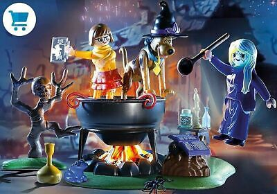 Playmobil 70366 Scooby Doo Adventure In The Witch's Cauldron Ready To Ship. • 18.25£