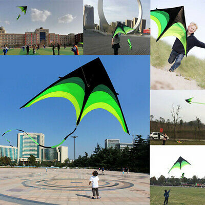 Super Huge Kite Line Stunt Kites Outdoor Fun Foldable Sport Kid Toy Outdoor • 12.14£