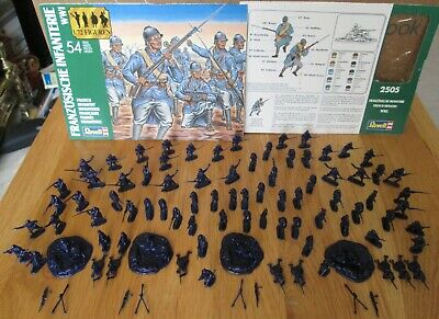 1/72 Revell WWI French Infantry X88 & Hat WWI French Infantry X96 As Photo's  • 13.50£