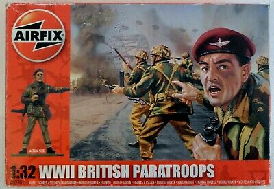 Airfix : World War Two British Paratroops 1/32 Scale Plastic Figures • 10.49£