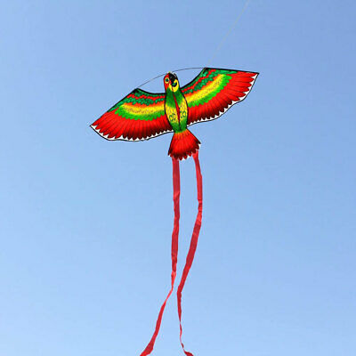 Kites For Kids Children Lovely Cartoon Parrot Kites With Flying Line UK • 5.89£
