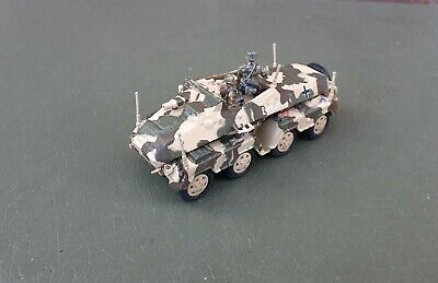 1/72 20mm WW2 German Puma Stummel & Crew Infantry Support Or Recce Built Painted • 9.99£