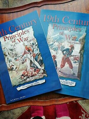 19th Century Principles Of War Wargames Rules 2nd Edition And Colonial Lists. • 9£