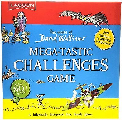 Lagoon David Walliams Megatastic Challenges Game Childrens Family Fun Gift Idea • 14.49£