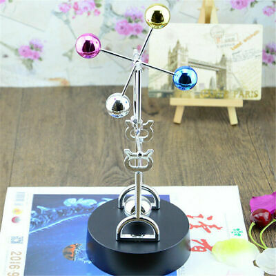 Home Colorful Ball Revolving Perpetual Motion Machine Office Desk Decor Model • 9.99£