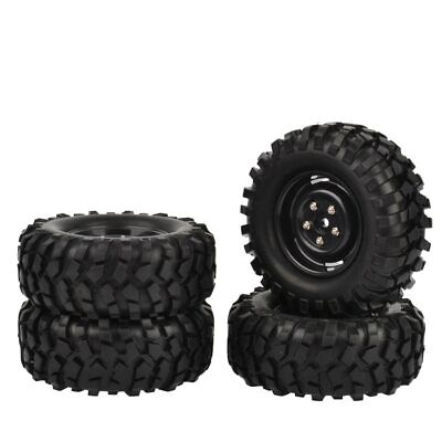 4x 96mm Off Road Tires 1.9  Rock Crawler Wheels Tyres For SCX10 D90 Traxxas TRX4 • 24.95£