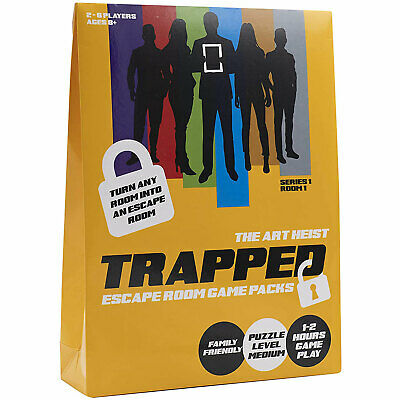 Trapped Escape Room Game Pack - The Art Heist *BRAND NEW* • 12.99£