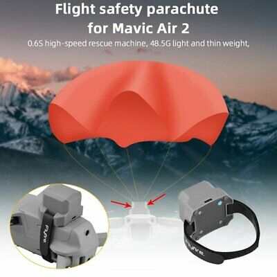 USB Rechargeable Smart Flight Safety Parachute Kit For DJI Mavic Air 2 RC Drone • 72.46£