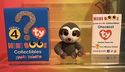 TY Mini Boo Series 4 Figure Dangler The Sloth BRAND NEW With Box And Guide • 3.45£