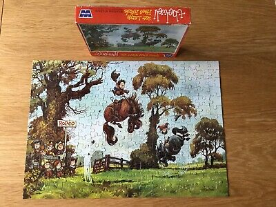 1973 Whitman Norman Thelwell 224 Large Pc Jigsaw Rare Complete • 13.99£