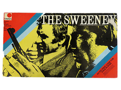 1975 - The Sweeney Board Game - Boxed And Complete - Omnia Original  • 16.99£
