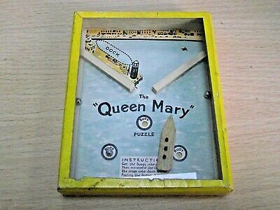 Vintage R. Journet Queen Mary Puzzle • 15£