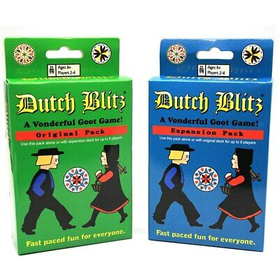 Dutch Blitz All English Basic Expansion Board Game Family Fun Party Card Game • 9.68£