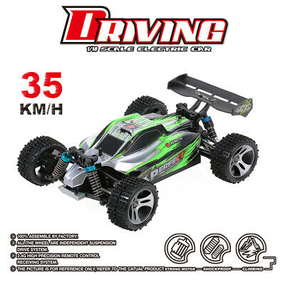 WLtoys A959-A 4WD 1/18 35KM/H RC Cars Electric Buggy High Speed Monster Truck • 36.99£
