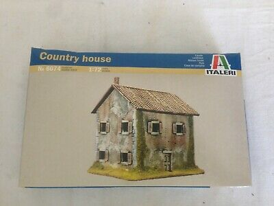 Italeri 1:72 Model Kit Of A Country House, 6074 Boxed, Sealed Until Photographs • 17.50£