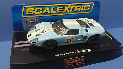 Scalextric C2940 Ford Gt40 #20 Masters Racing Series  Ltd Ed 1500. • 54.99£