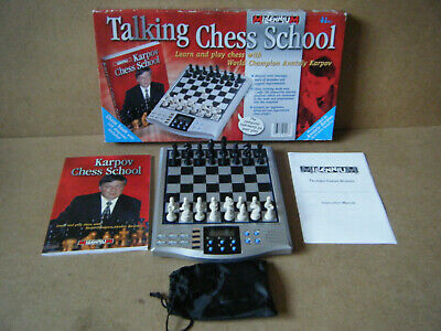 Millennium  TALKING CHESS SCHOOL  Electronic Chess Computer. From 2000.Complete. • 24.99£