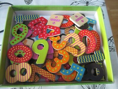 Lelin Magnetic Number 60 Pieces Used • 4£
