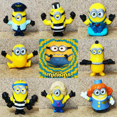 McDonalds Happy Meal Toy 2020 UK Minions Rise Of Gru Figures Toys - Various • 3.75£
